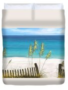 Clear Water Florida Duvet Cover