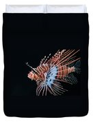 Clearfin Lionfish Duvet Cover