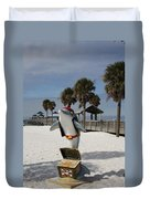 Clearwater Beach Pirate Duvet Cover