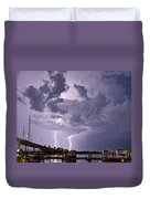 Clearwater Harbor Duvet Cover