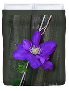 Clematis On A String Duvet Cover