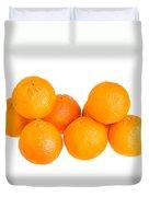 Clementine Oranges Duvet Cover