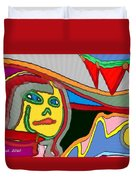 Cleo Waiting Duvet Cover
