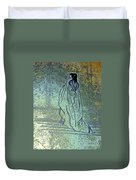Cleopatra's Ghost Duvet Cover