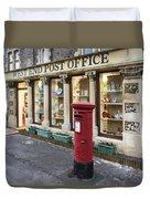 Clevedon West End Post Office Duvet Cover