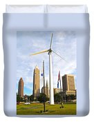 Cleveland Ohio Science Center Duvet Cover