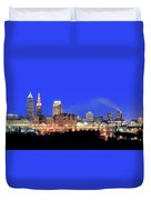 Cleveland Panoramic      Duvet Cover