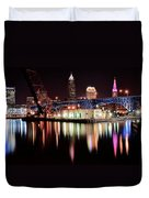 Cleveland Panoramic Reflection Duvet Cover