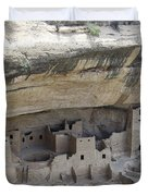 Cliff Palace Overview Duvet Cover