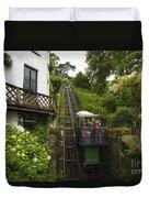 Cliff Railway  Duvet Cover