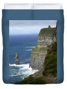 Cliffs Of Moher 7 Duvet Cover by Mike McGlothlen