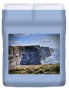 Cliffs Of Moher - Late Afternoon Duvet Cover