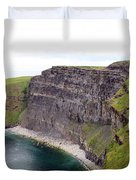 Cliffs Of Moher Panorama 1 Duvet Cover