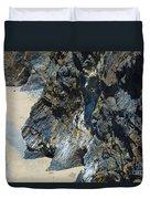 Cliffs Of Pembrokeshire Duvet Cover