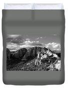 Cliffs Of Sedona Duvet Cover