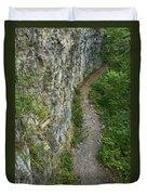 Cliffside Path Duvet Cover