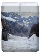 T-803501-b-climbers In The Death Trap Duvet Cover