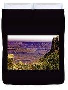 Climbing In Grand Canyon Duvet Cover