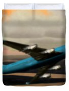 Climbing Power Duvet Cover by Marcello Cicchini