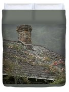 Climbing Roses Duvet Cover by Ron Sanford