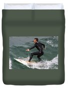 Climbing The Wave Duvet Cover