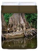 Clinging Cypress Duvet Cover