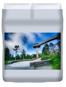 Clingmans Dome - Great Smoky Mountains National Park Duvet Cover