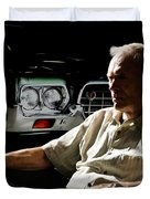 Clint Eastwood As Walt Kowalski In The Film Grand Torino - Clint Eastwood - 2008 Duvet Cover