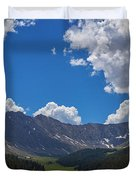 Clinton Gulch Summer Duvet Cover