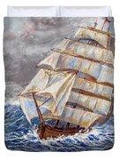 Clipper Ship Duvet Cover