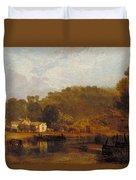 Cliveden On Thames Duvet Cover