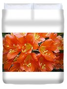 Music Please Clivia Duvet Cover