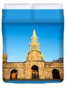 Clock Tower Gate Duvet Cover