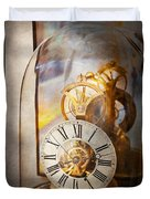 Clockmaker - A Look Back In Time Duvet Cover