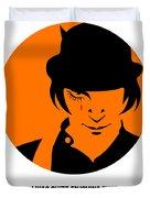 Clockwork Orange Poster 1 Duvet Cover