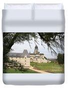 Cloister Fontevraud View - France Duvet Cover