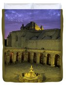 Cloisters At Sunset Arequipa Peru Duvet Cover