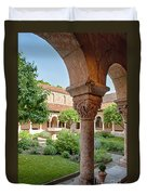 Cloisters Courtyard Duvet Cover