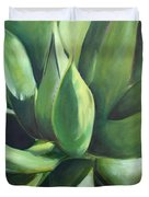 Close Cactus II - Agave Duvet Cover