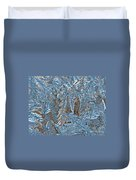 Close To Frost Duvet Cover