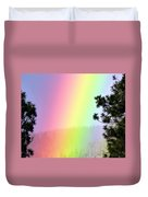 Close To The Pot Of Gold Duvet Cover