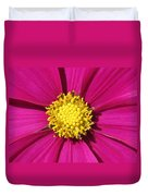 Close Up Of A Cosmos Flower Duvet Cover