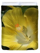 Close Up Of A Hibiscus...   # Duvet Cover