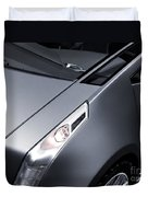 Close Up Of Cadillac Ulc Urban Luxury Car Duvet Cover