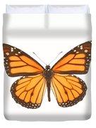 Closeup Of A Butterfly Duvet Cover