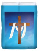 Cloth Of Christ Duvet Cover