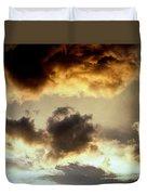 Golden Cloud Duvet Cover