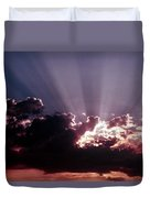 Dramatic Sunset Duvet Cover