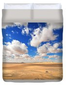Cloudscape At Sahara Desert Duvet Cover