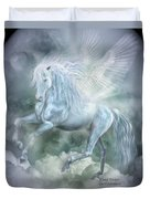 Cloud Dancer Duvet Cover